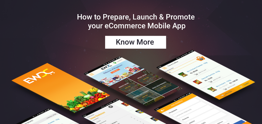 promote ecommerce mobile app