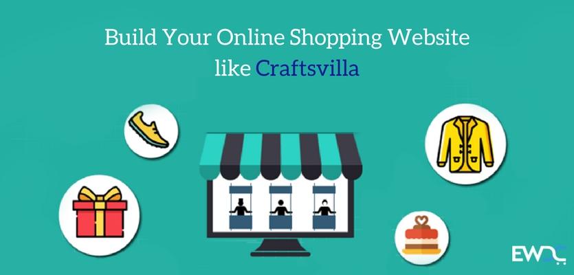 Build Your Online Shopping Website like Craftsvilla