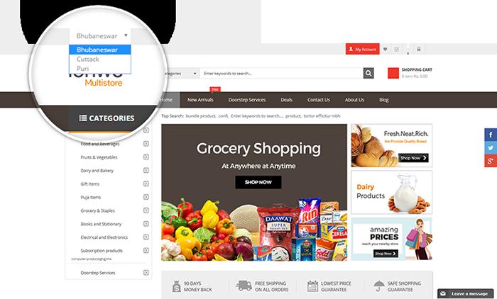 multi site multi store