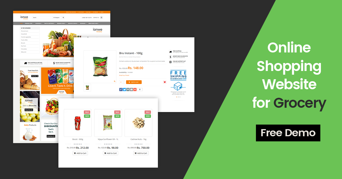 grocery-shopping-website-design