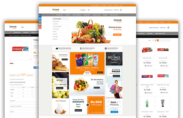 grocery ecommerce script