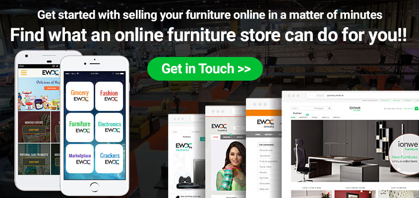 furniture ecommerce website development