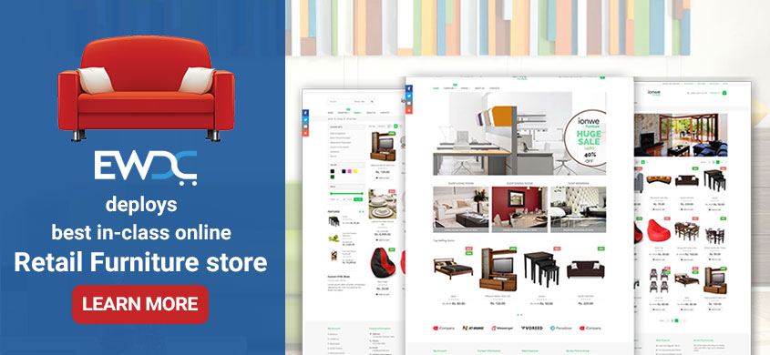 furniture retail ecommerce website