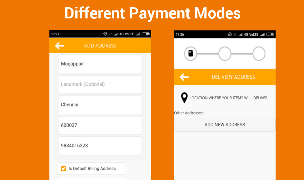 Different Payment Modes