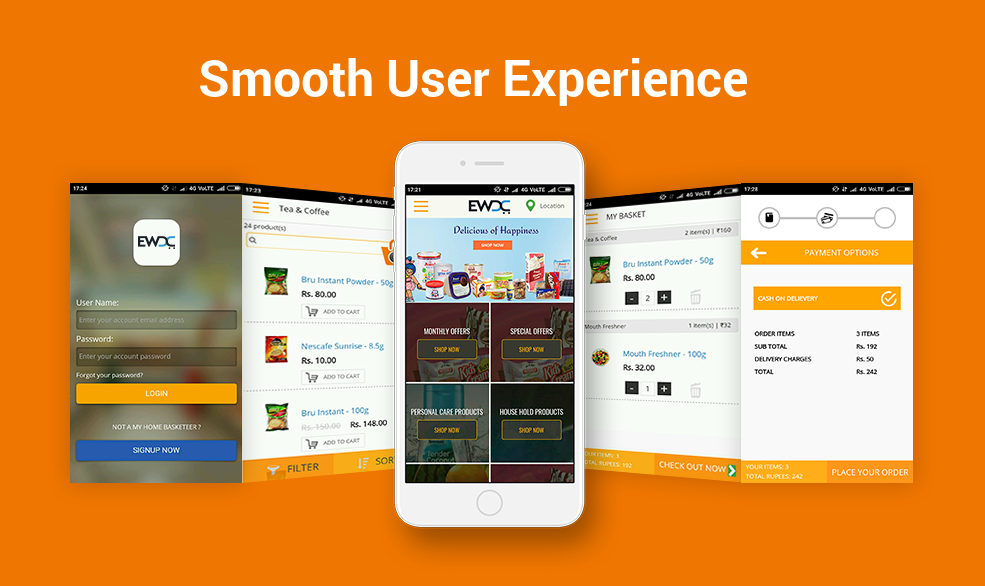 Smooth User Experience