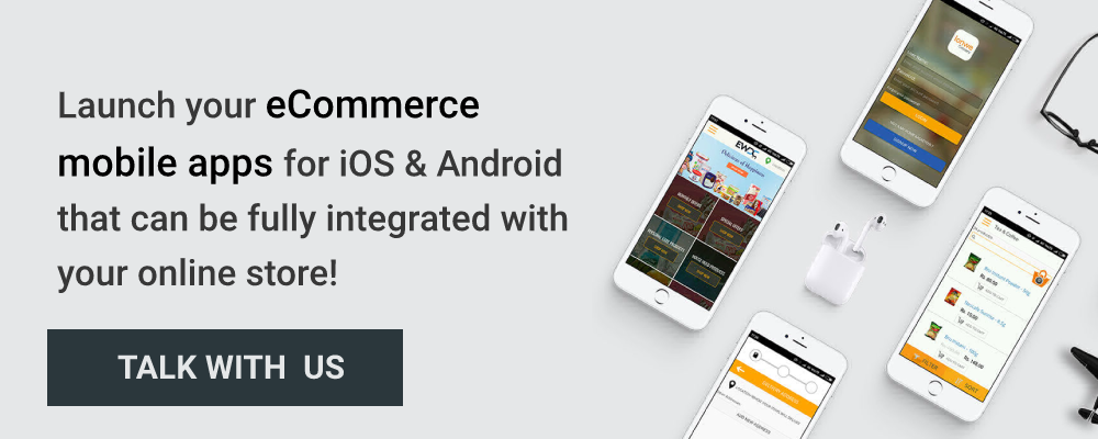 launch ecommerce mobile app