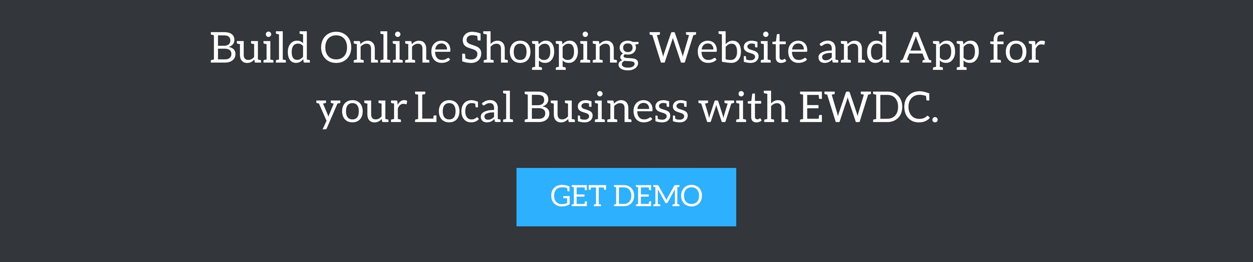Build Online Website and App for your Local Business