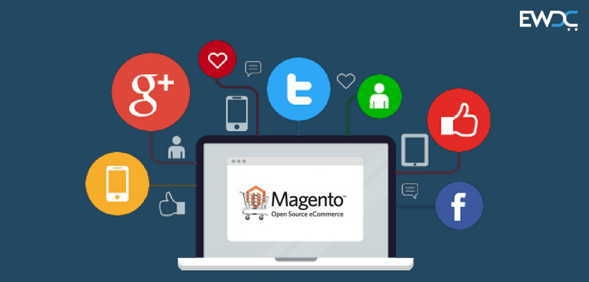 promote magento ecommerce store on social media