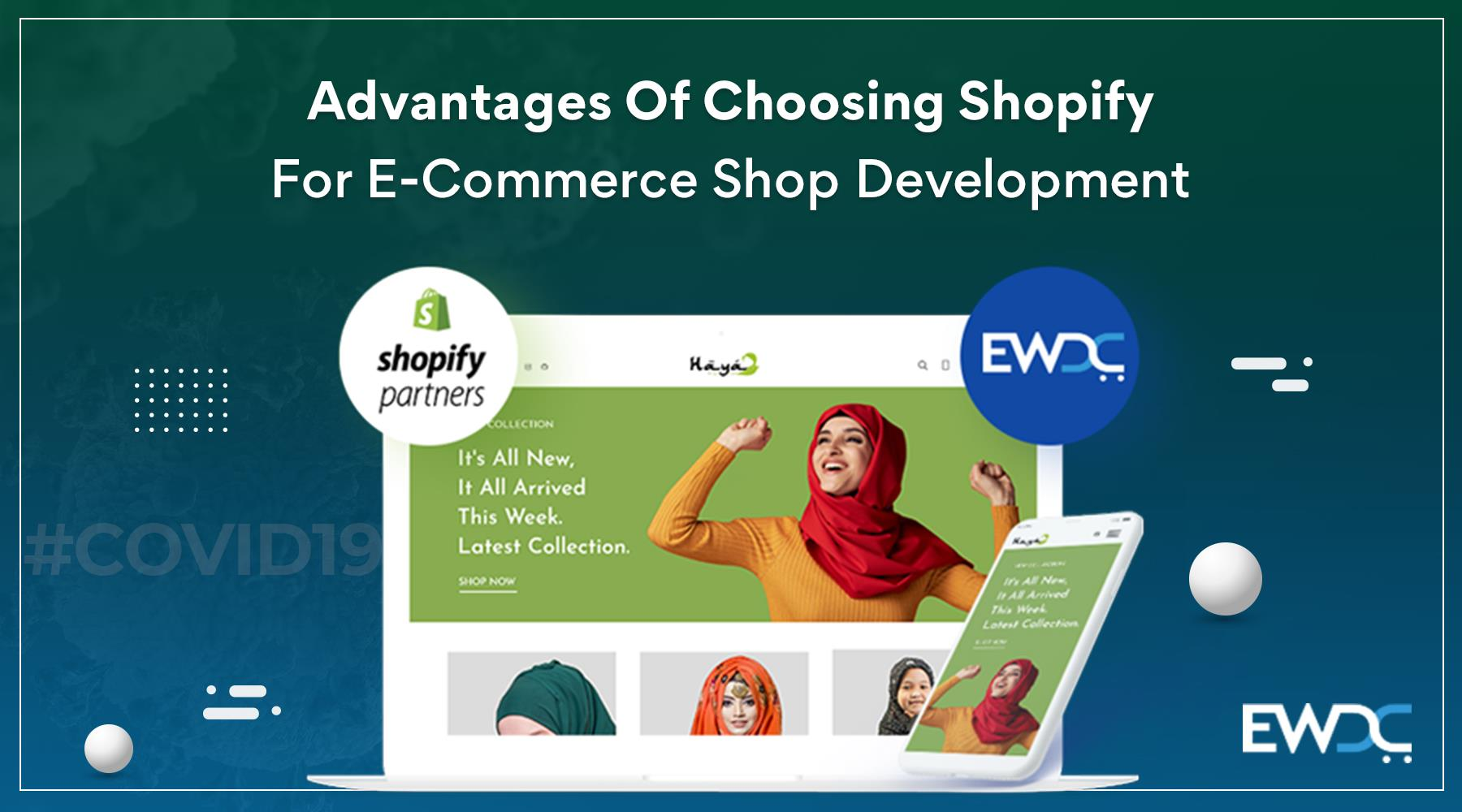 advantages of shopify ecommerce development platform