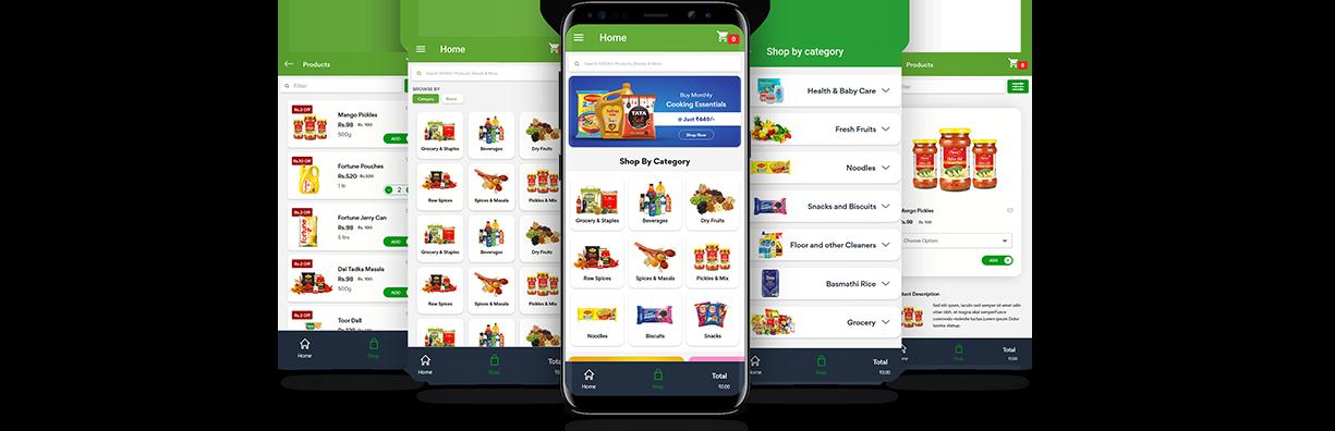 mobile app ecommerce